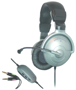 NOISE CANCELLING OVER-EAR HEADPHONES WITH MIC