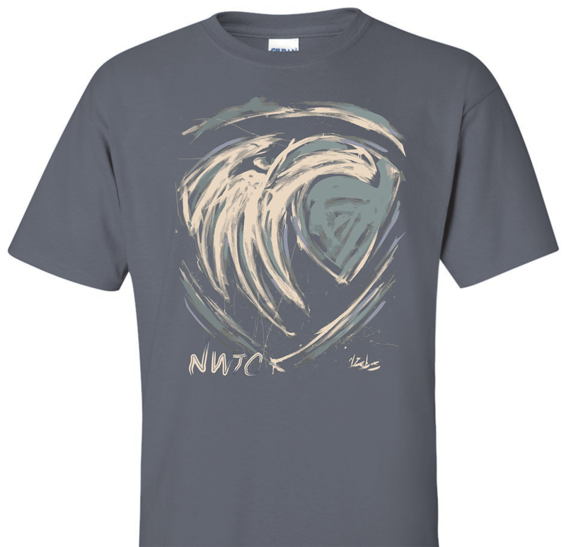 Image For EAGLE ART T-SHIRT XXL