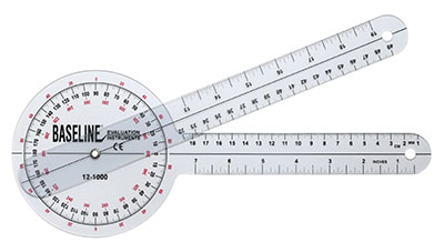 "Image For GONIOMETER 12"" 360"