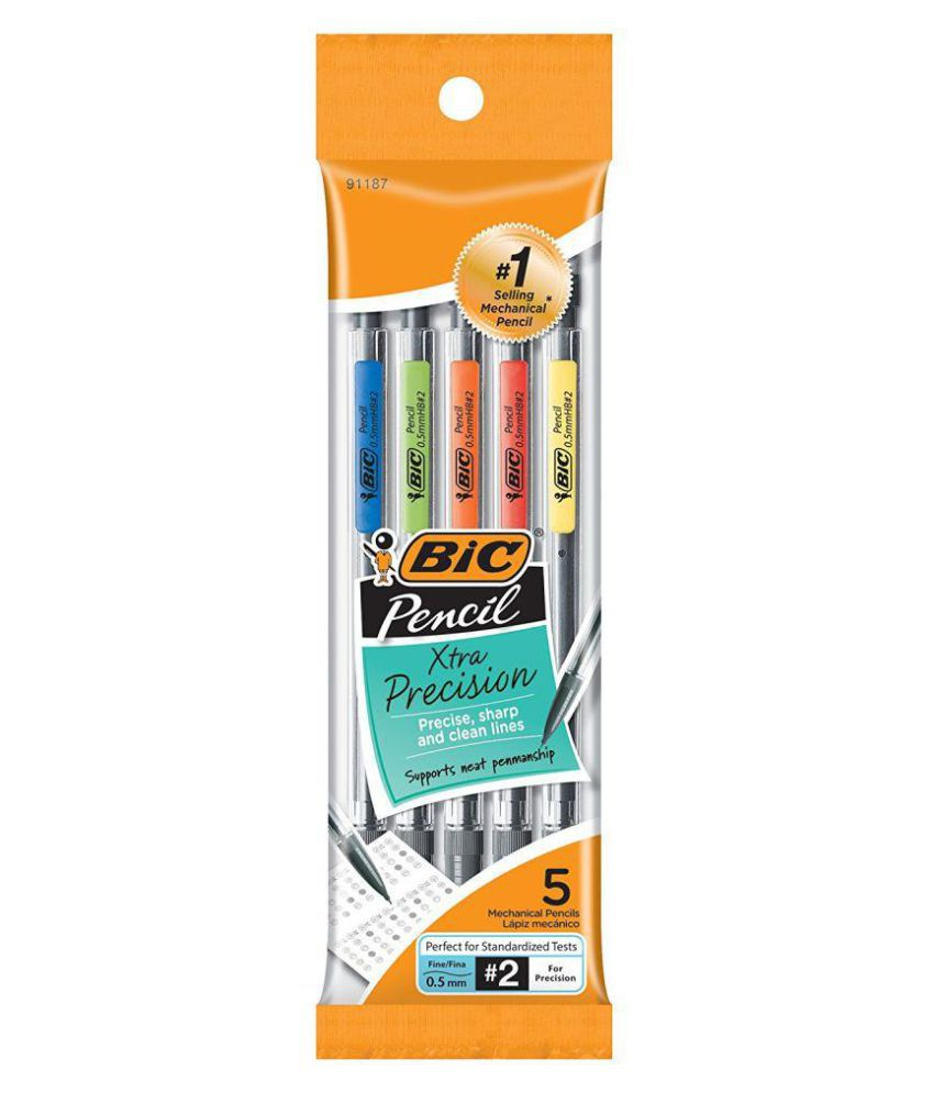 Image For PENCIL BIC XTRA PRECISION 5PK
