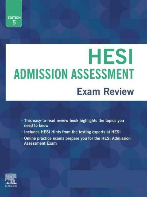 Image For HESI ADMISSION ASSESSMENT 5TH EDITION